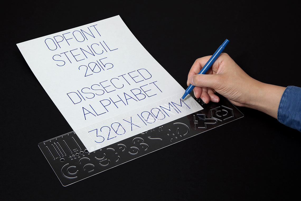 Dissected Alphabet