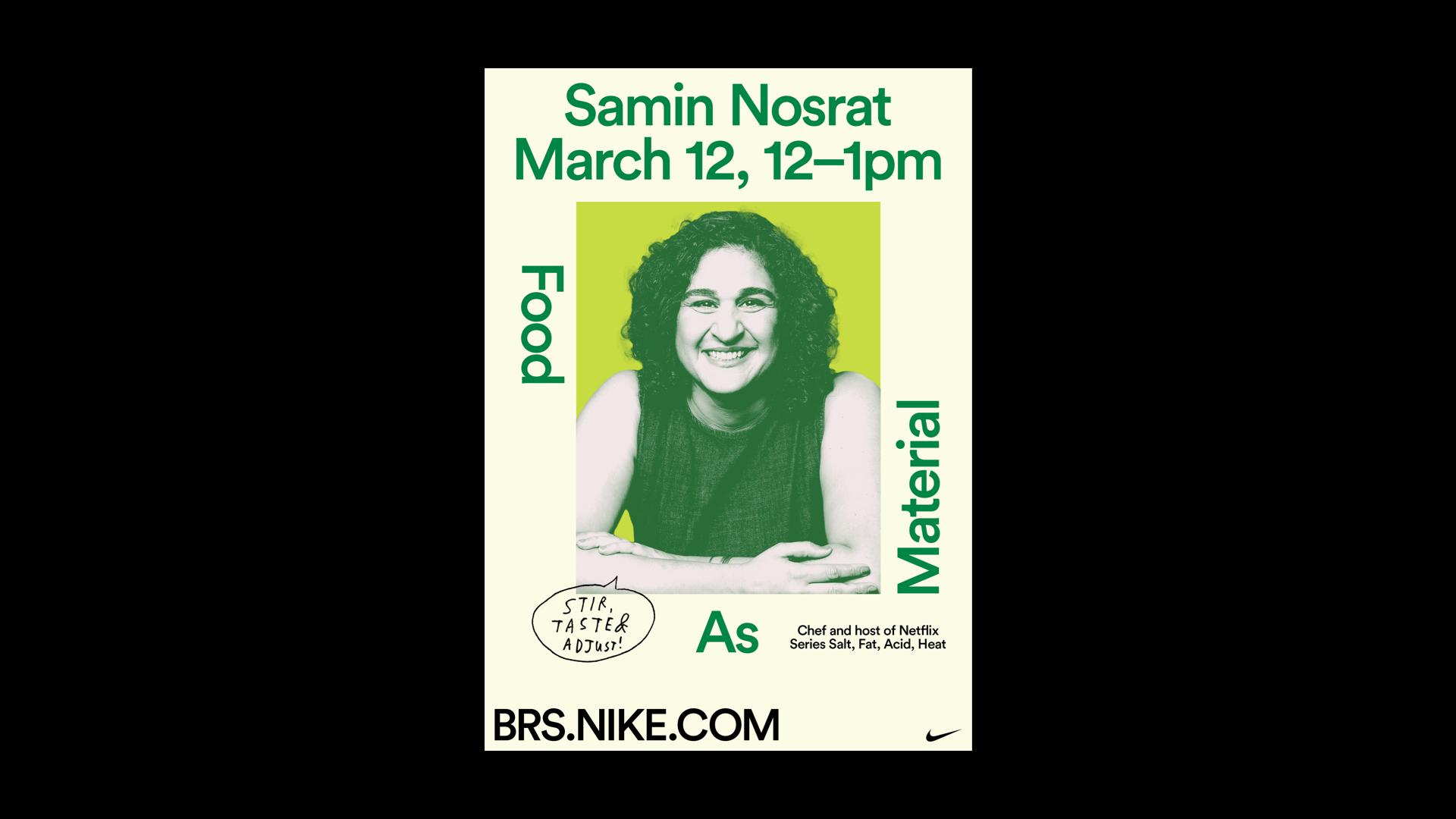 BRS – Samin Nosrat